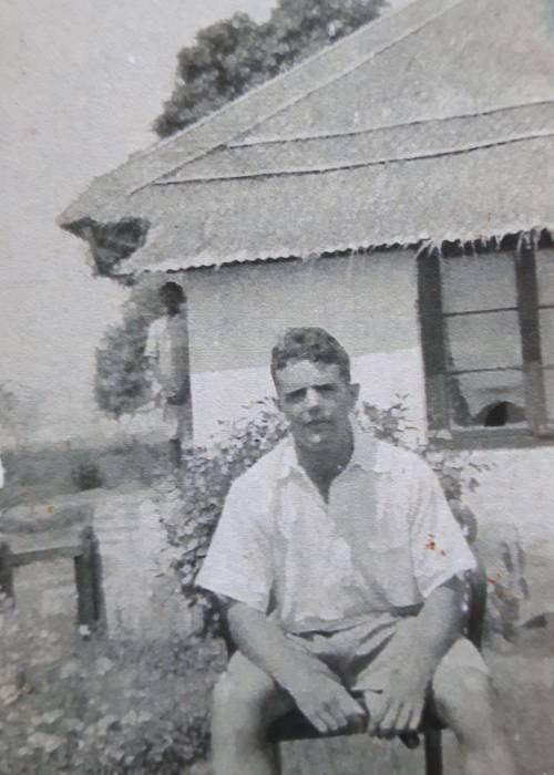 My grandfather in India (c) Rebecca Smith