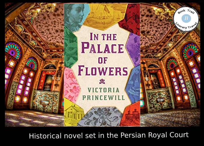 In the Palace of Flowers set in Iran - Victoria Princewill
