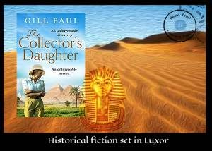 Novel set in Luxor – The Collector's Daughter by Gill Paul