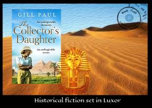 Novel set in Luxor - The Collector's Daughter by Gill Paul